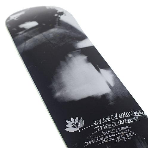 Дека для скейтборда Magenta Skateboards Sergey x Ben