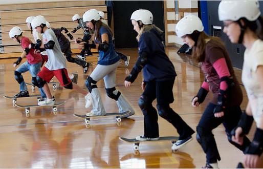 Скейтборд и школа совместимы