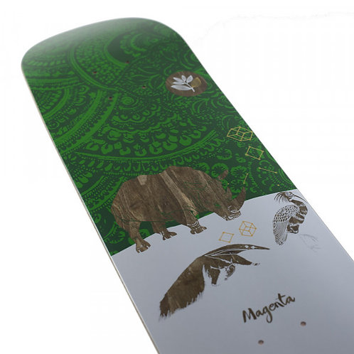 Дека для скейтборда Magenta Skateboards Rhino