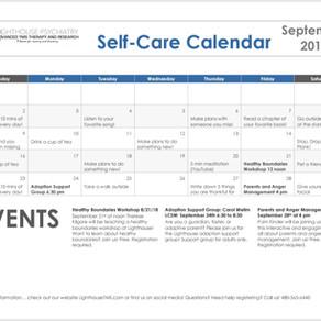 September Self-Care Calendar!