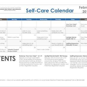 February Self-Care Calendar!