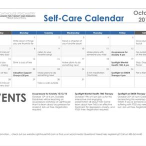 October Self-Care Calendar!