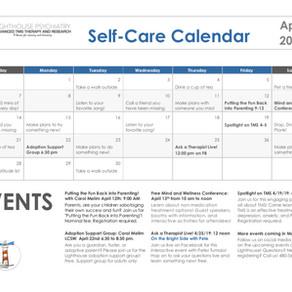 April Self-Care Calendar!