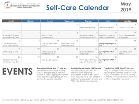 May Self-Care Calendar!