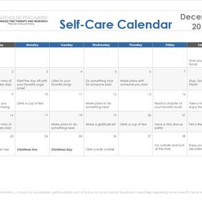 December Self-Care Calendar!