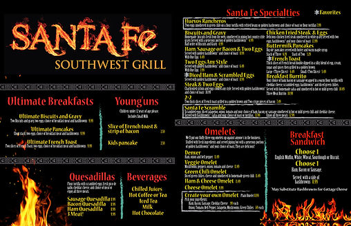 Santa Fe Southwest Grill restaurant brea