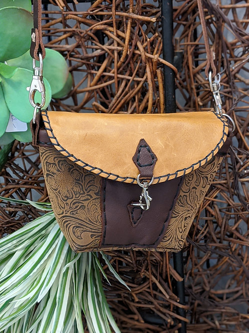 Leather Boho Purse by Emma Tay Hackman