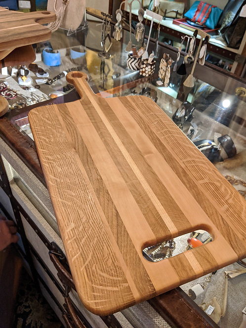 CHARCUTERIE AND CHEESE BOARD ARTIST DON NEITZ