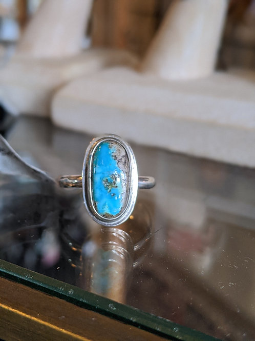 Turquoise Ring Size 71/2 Artist Don Haywood