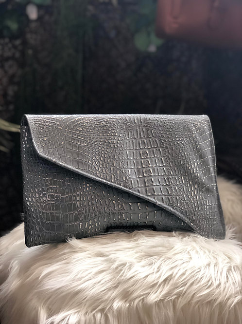 Handmade Italian Leather Clutch