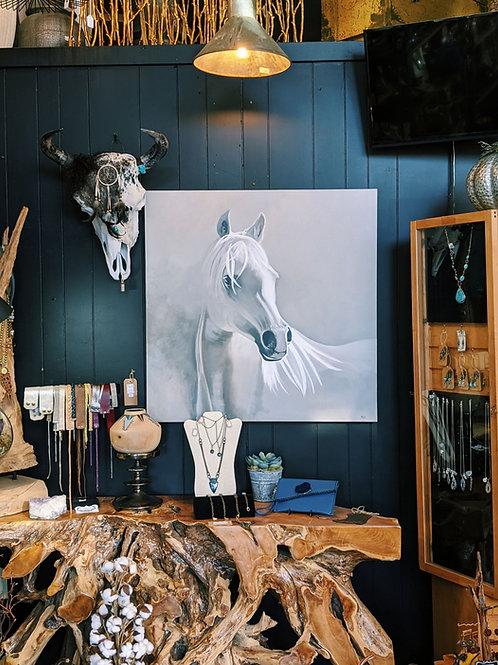 Horse Painting - Original