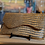 Thumbnail: Embossed Italian Leather Clutch, Medium