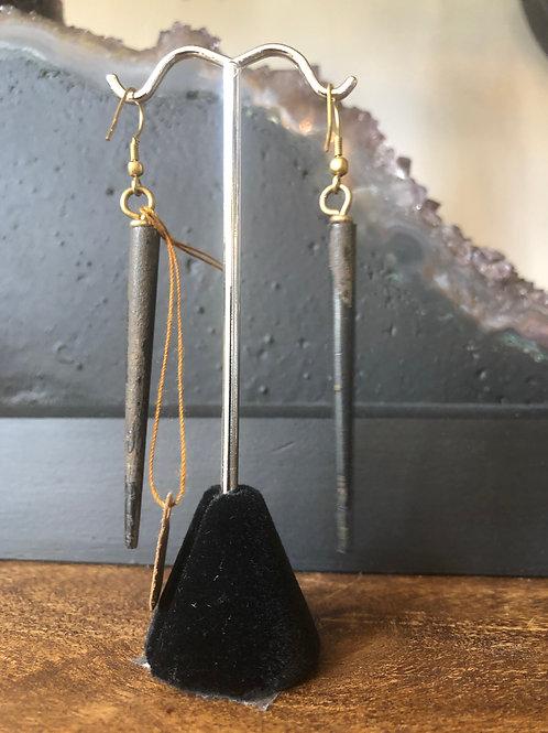 Bullhorn Earrings
