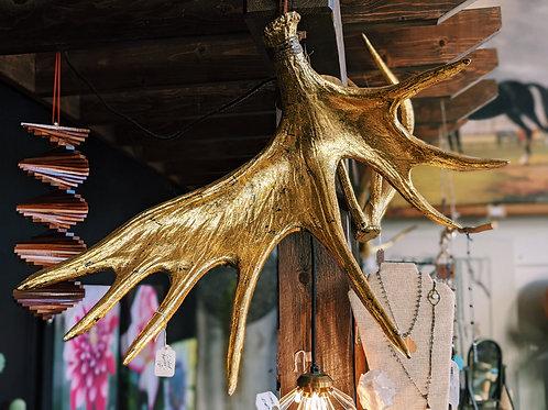 Gold Clad Antler