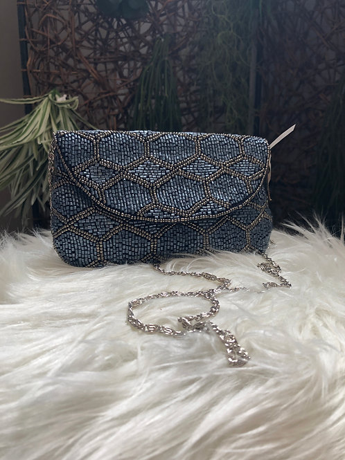 Small Beaded Crossbody Bag