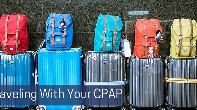 Traveling With Your CPAP