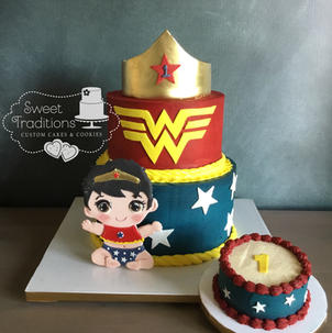 Wonder Baby First Birthday