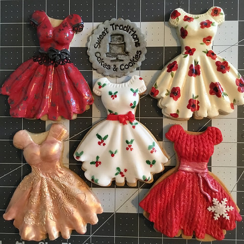 Party Dress cookie class