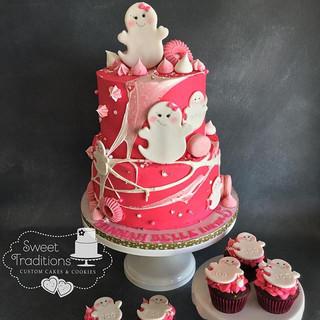 girly ghost birthday
