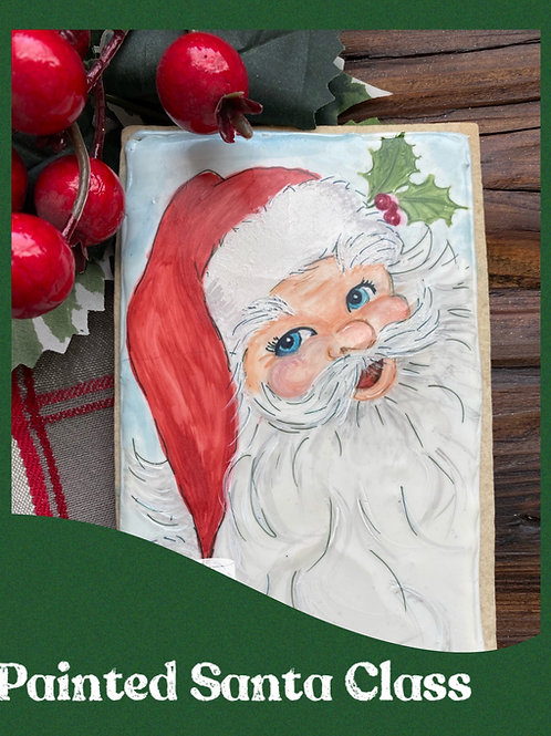Online Painted Santa