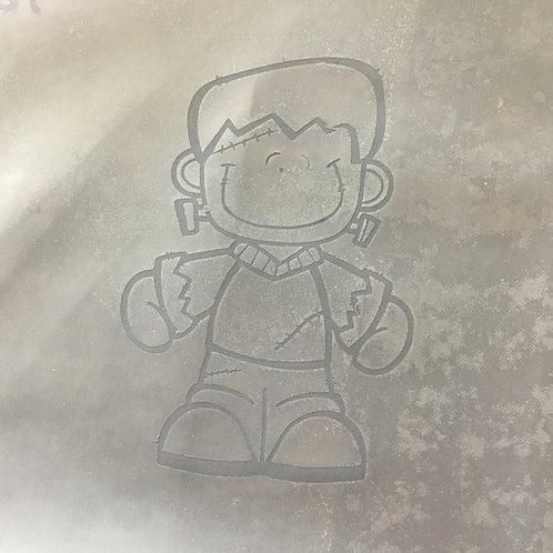 Frankie  silk screen stencil