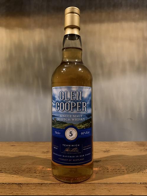 Glen Cooper Teaninich Single Malt Scotch Whiskey - 5 Years