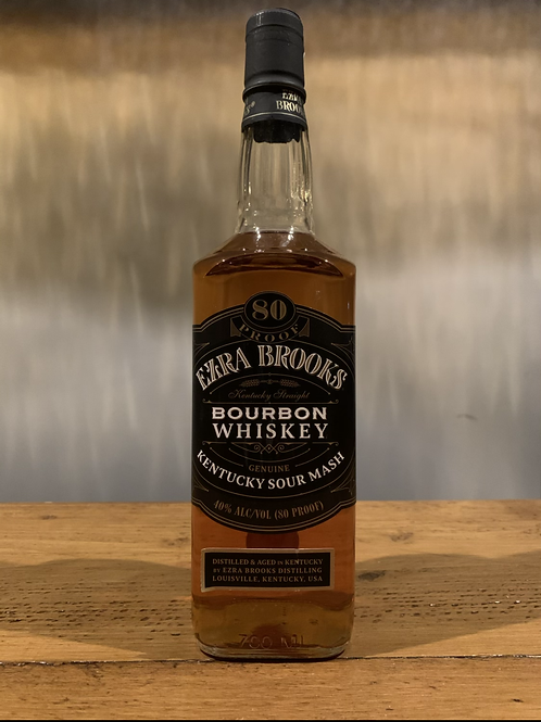Ezra Brooks Black Label Bourbon Whiskey