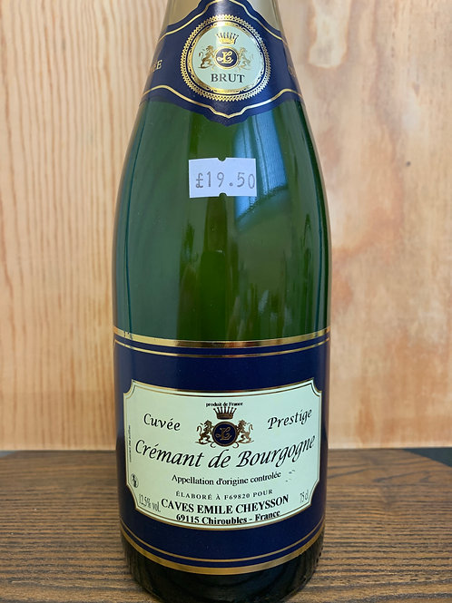 Cremant de Bourgogne Cuvée Prestige