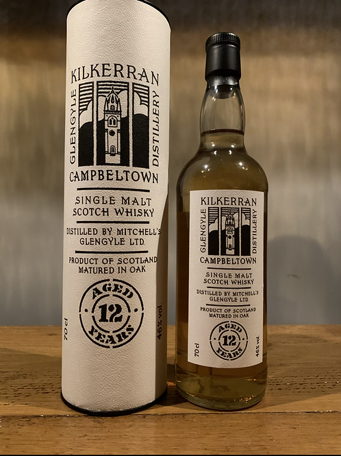 Kilkerran Single Malt Scotch Whisky - 12 Years