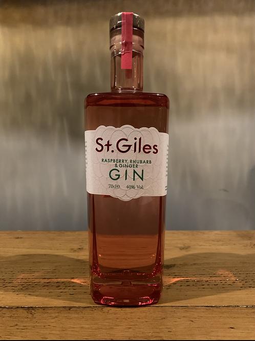 St Giles Raspberry, Rhubarb & Ginger Gin