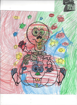 3rd place Coloring Contest Carissa H Age 2-5