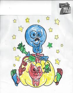 1st place Coloring Contest Genesis M Age 2-5