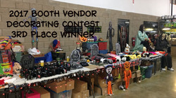 Booth Vendor Contest 3rd Place