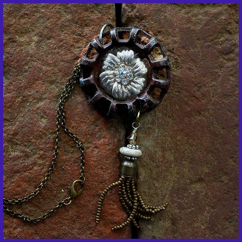 Faucet handle necklace