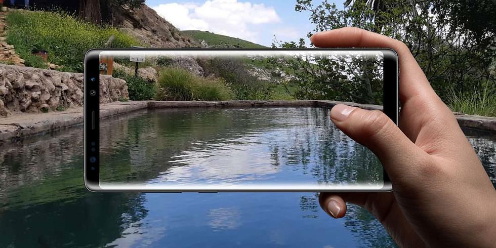 סדנת צילום בסמארטפון בשמורת נחל עין פרת (למנויי מטמון)