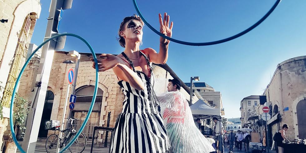 סיור צילום בסמארטפון - יפו: סמטאות השוק היווני והשוק