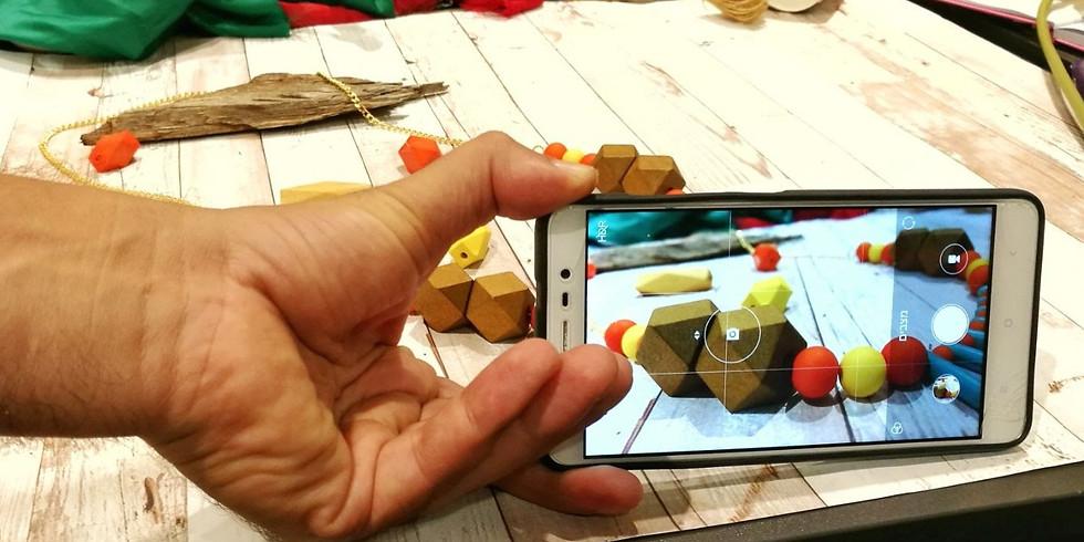 סדנת צילום מוצר בסמארטפון