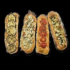 פוקאצ'ינות ירקות