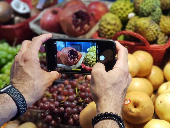 סדנת צילום בשוק האיכרים בנמל תל אביב