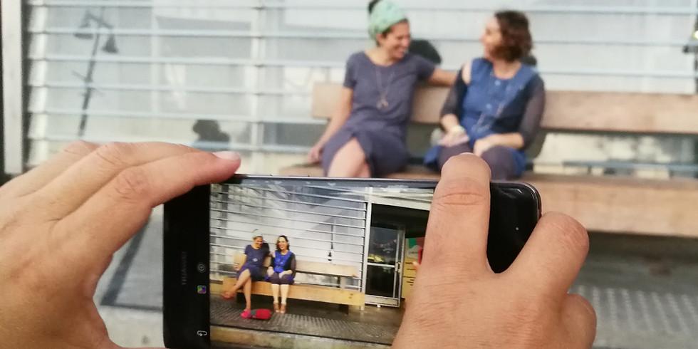 סיפור ומסגרת -  סדנת כתיבה וצילום בסמארטפון לרשתות החברתיות