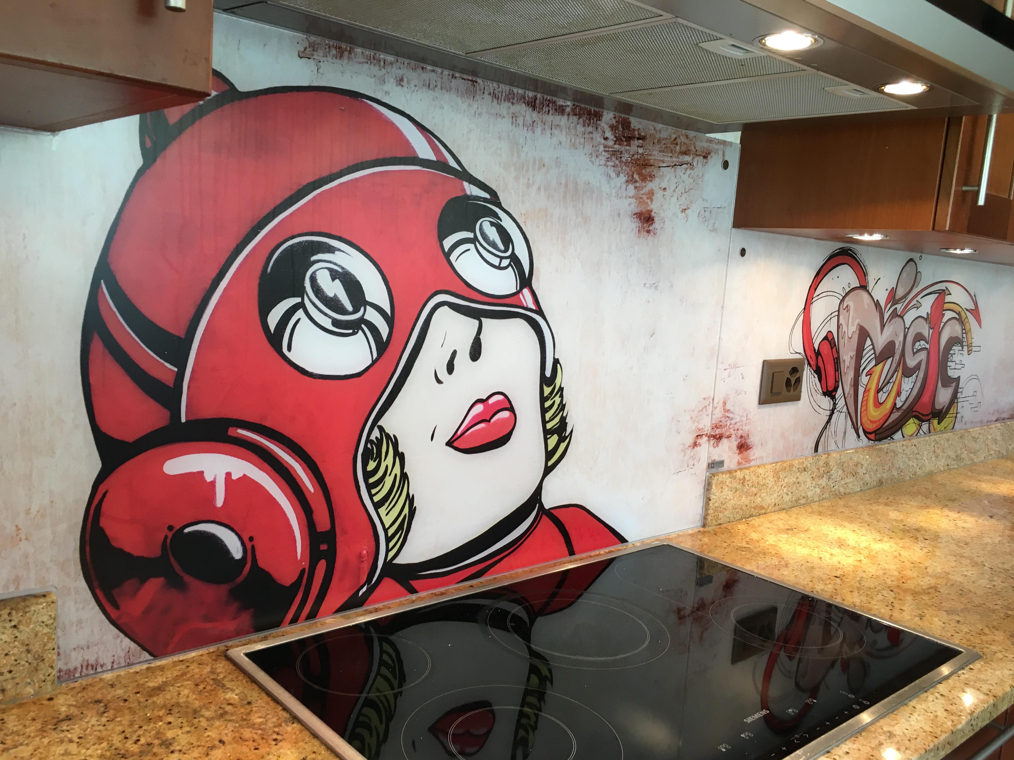 credence-cuisine-verre-graffiti