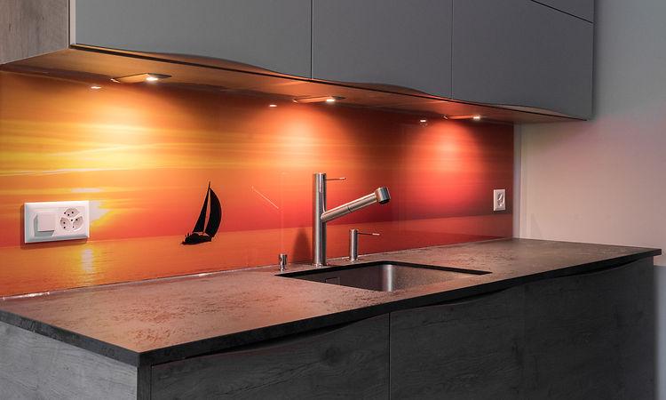 Crédence-cuisine | Une cuisine unique avec nos verre 100% sur mesure.