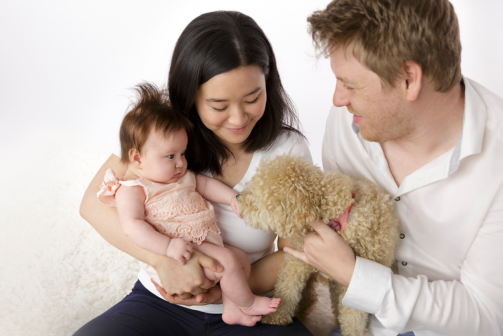 family baby and pet photographer Melbourne
