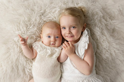 sibling baby portrait