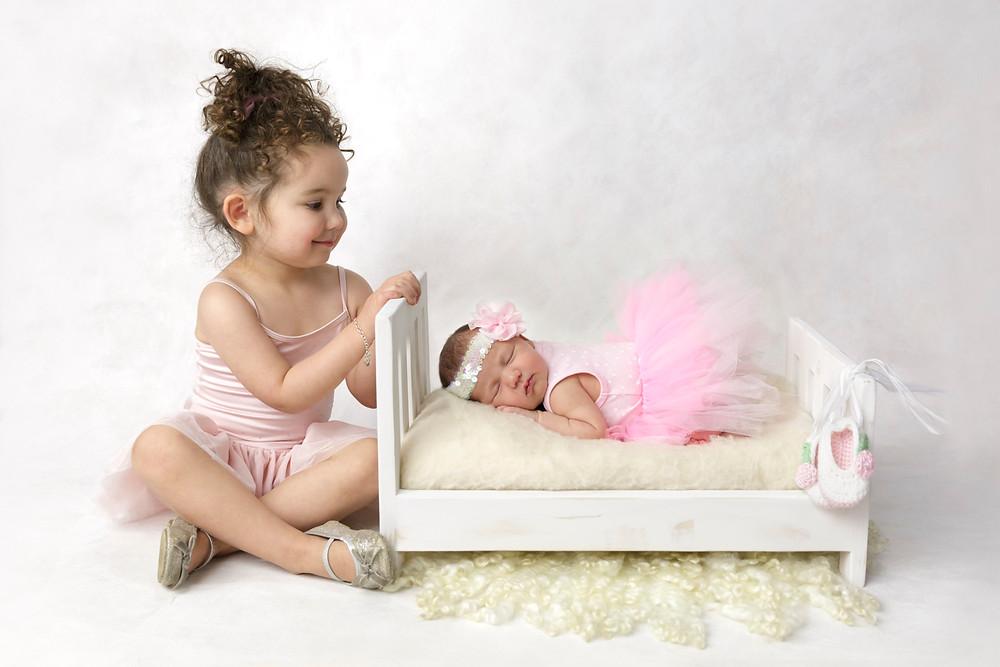 ballet themed baby photos
