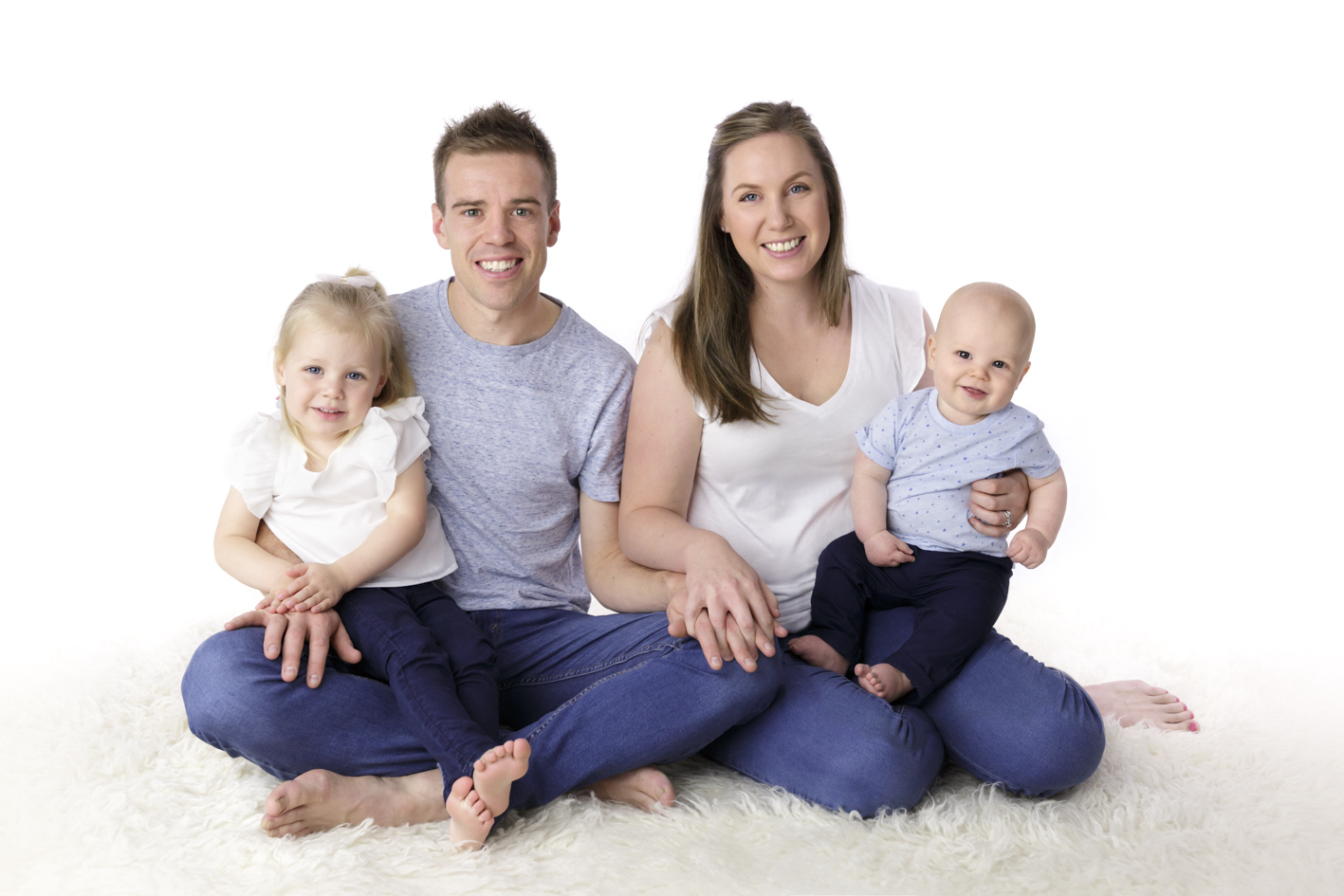 family and baby photographer