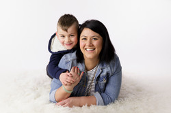 mother and 3 year old son