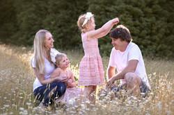 Natural Outdoor Family Photos