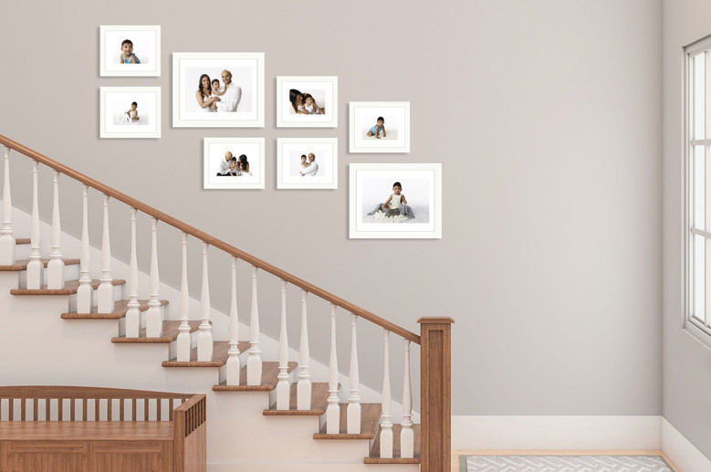 wall design with your photographs