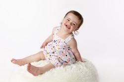 cheeky 12 month girl